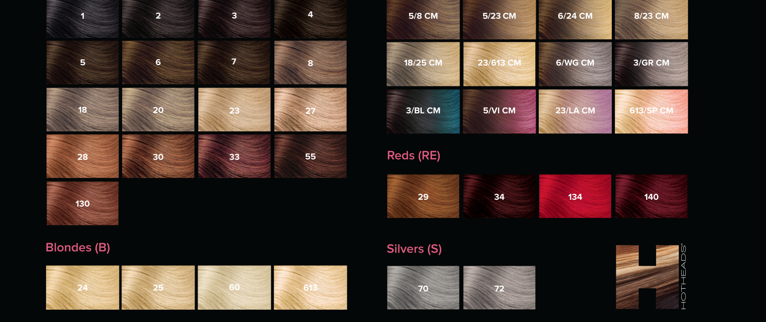 Hotheads hair extensions eden medical spa boutique color options call eden today to book your appointment for hotheads hair extensions pmusecretfo Image collections